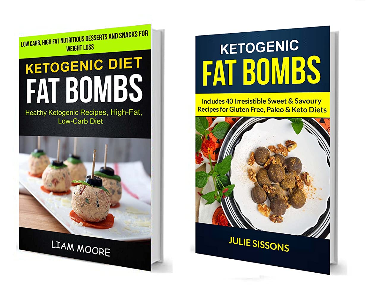 Ketogenic Diet: Fat Bombs: (2 in 1): Includes Irresistible Sweet & Savoury Recipes For Gluten Free, Paleo & Keto Diets (Healthy Ketogenic Recipes, High Fat, Low Carb Diet) (English Edition)