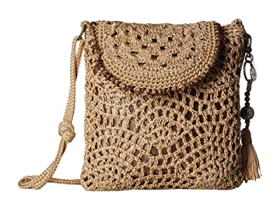 The Sak Sayulita Flap Crossbody (Bamboo) Handbags