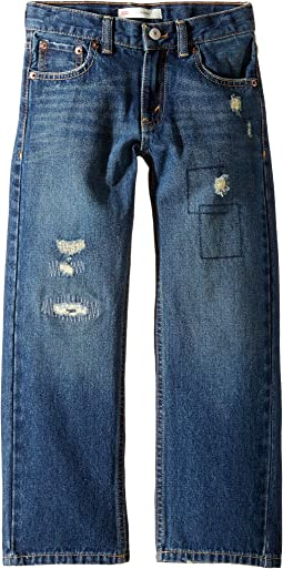 Regular Fit Rip & Repair Jeans (Little Kids)
