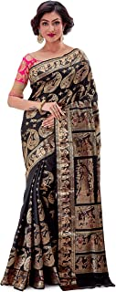 Best black katan silk saree Reviews