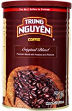 Trung Nguyen Vietnamese Coffee Original Blend: Premium Blend with Arabica and Robusta- 15 oz can
