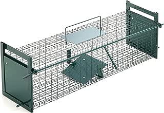 Lebendfalle für Ratten 60 cm I Extrem Effektiv I Zuverlässige Wetterfeste Lebend Rattenfalle I Falle Metall XXL