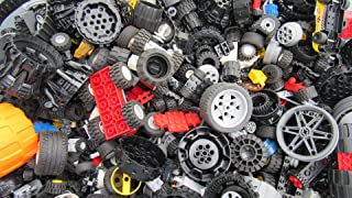 2 Pounds of Lego Wheels (Includes Hundreds of Pieces!)
