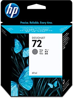 HP (Hewlett Packard) Original C9401A HP 72 69-ml DesignJet Ink Cartridge, Gray