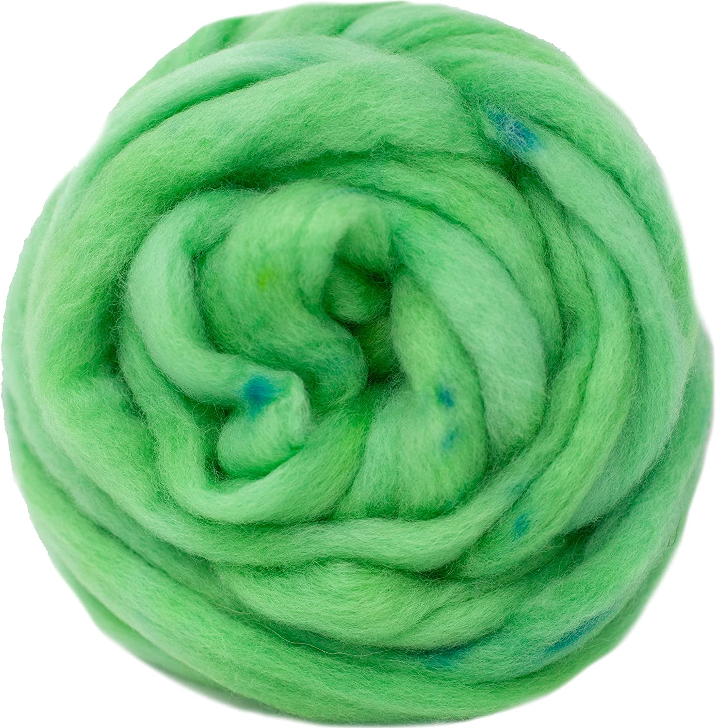 Wool Roving Hand Dyed. Super Soft sale period limited BFL Combed Excellence for Top Pre-Drafted
