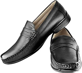Tapps Men's Pure Leather Formal Shoes Lace Up
