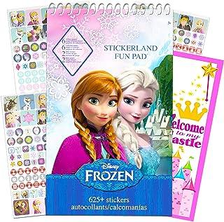 Disney Frozen Stickers Activity Bundle ~ Over 625 Stickers, Coloring and Activity Pages, and Bonus Door Hanger (Frozen Party Supplies)
