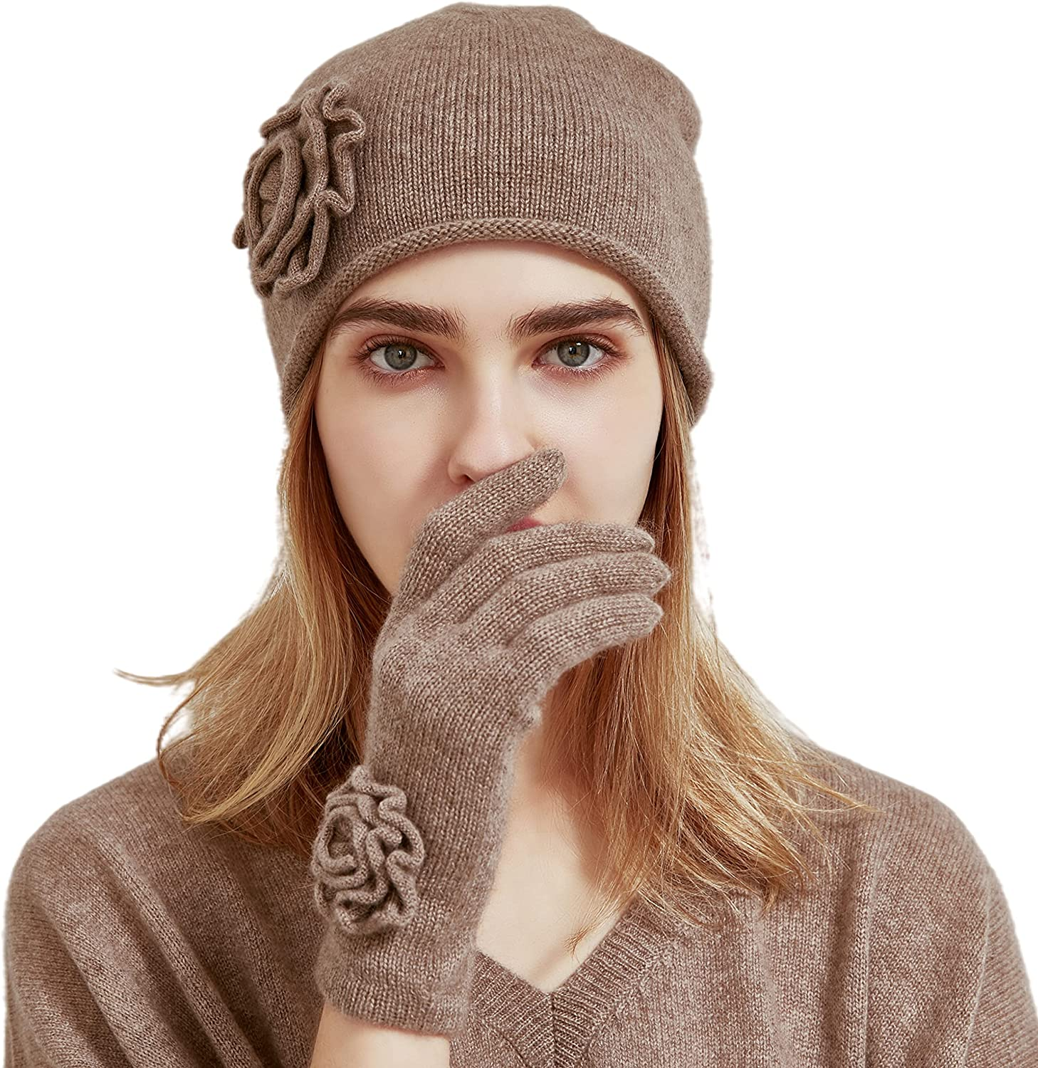 Pure Cashmere Gloves for Women