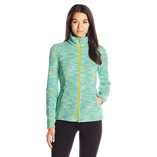 Spyder Womens Endure Space Dye Full Zip Mid Weight Stryke Fleece