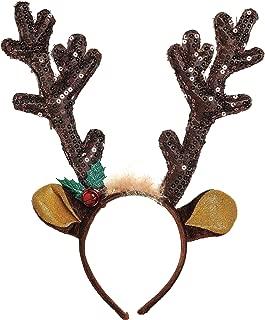 amscan Antler Headband   Christmas Accessory