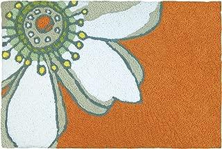 Jellybean Sensational Sunflower on Orange Garden Indoor/Outdoor Machine Washable 21