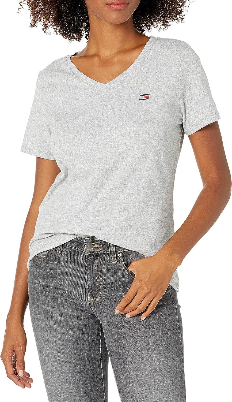 Tommy Hilfiger Women's Premium Performance Short Sleeve V-Neck T-Shirt