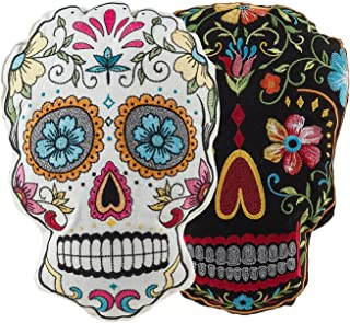 Best sugar skull pillow Reviews