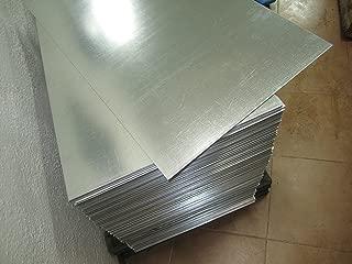 Chapa o placa (lisa) de acero galvanizado