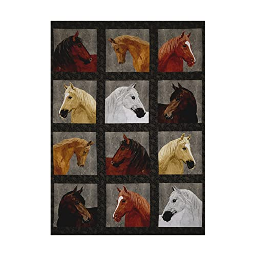 Horse Print Fabric By The Yard Amazoncom