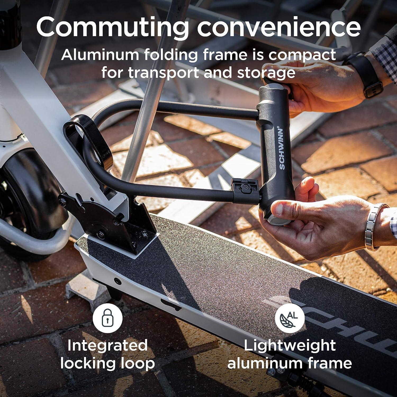 Lightweight Max Rider Weight 175-220 lbs Folding Locking Aluminum ...