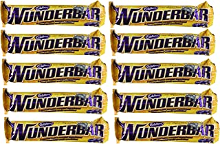 10- Pack of Wunderbar Made in Canada 58g Each