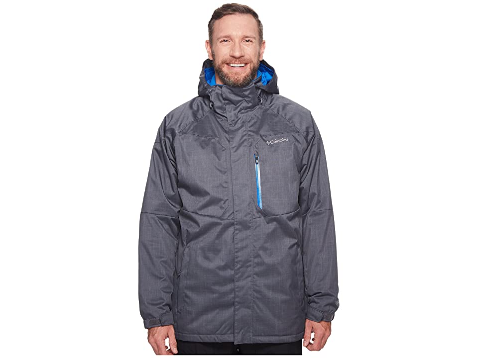 Columbia Big Tall Alpine Actiontm Jacket (Graphite/Super Blue) Men