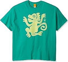 Nickelodeon Men's Legends of The Hidden Temple Green Monkeys T-Shirt