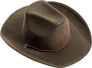 Men's Adult Suede Cowboy Hat