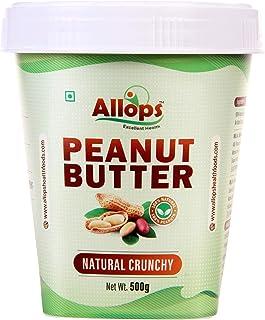 Allops Natural crunchy Peanut Butter 100% Veg. (500)