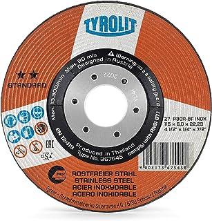 * Aluminium 230x2,5/mm gerade Form 41/Pack of 1 Tyrolit Cutting Disc Premium