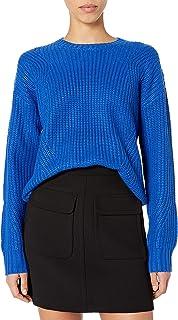 Lucky Brand Women's Solid Scoop Neck Sweater