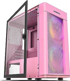 MOROVOL 2 PCS 120MM ARGB Fans Computer Case USB 3.0×2...