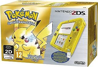 Pokemon Yellow Pikachu Nintendo 2DS 20th Anniversary Special Edition PAL UK Import