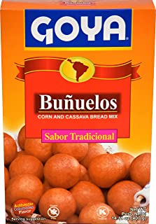 Goya Foods Bunuelos Traditional Corn and Cassava Bread Mix, 14.1 Ounce (Pack of 20)
