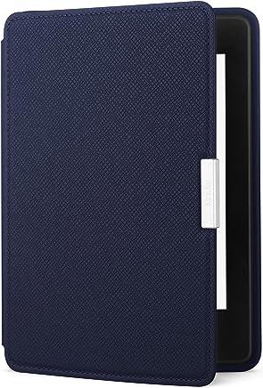 Capa de couro para Kindle Paperwhite, cor azul (não compatível com o novo Kindle Paperwhite)
