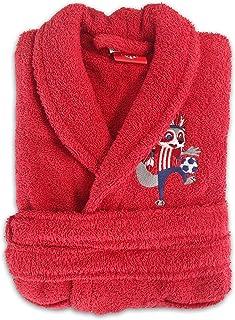 641a4a1e61bb5 Atlético de Madrid Peignoir 100 % Coton pour garçons et filles avec licence  officielle. De