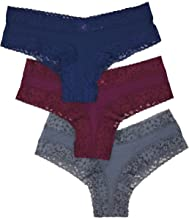 Victoria's Secret Lace Cheeky Panty Set of 3