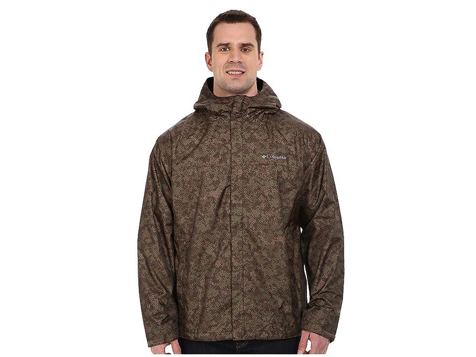 Columbia Big Tall Watertighttm Printed Jacket (Commando Digital Camo) Men
