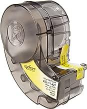 Brady Self-Laminating Vinyl Label Tape (XSL-11-427) - Black on White, Translucent Tape - Compatible with IDXPERT Label Makers - .75