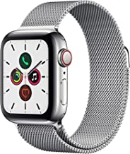 Apple Watch Series 5 (GPS + Cellular, 40mm) - ​ Stainless Steel Case with Milanese Loop