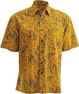 Johari West Tropical Tobago Hawaiian Batik Shirt