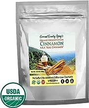 Organic Ceylon Cinnamon Powder, 3.5 oz from Ceylon Sri Lanka, Premium Grade, Harvested Fresh, w/ E-Book