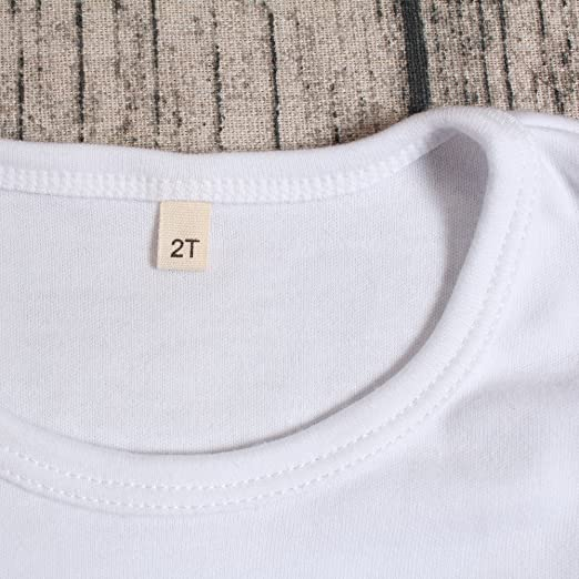 Yawoo Haan Baby Girls Solid Short Sleeve T-Shirt Cotton Basic Tee