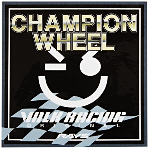 Volk Racing (WSTKSCHAMPWHEEL Champion Wheel Message Sticker