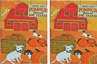 Trader Joe's Pumpkin Flavored Dog Treats 2-Pack