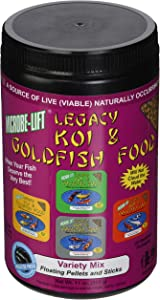 Ecological Labs MLLVMSM Legacy Variety Mix Floating Pellets and Stick, 11-Ounce