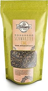 Kultaroma Schwarztee Orientalischer Chai Premium Schwarztee - 250g loser Tee in wiederverschließbarem Standbeutel
