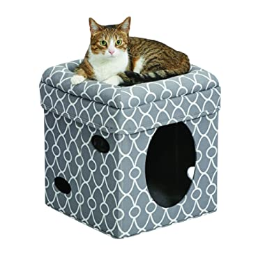MidWest Curious Cat Cube, Cat House / Cat Condo