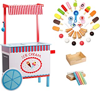 ice cream cart size