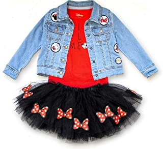 Minnie Mouse Toddler 3pc Skirt Set