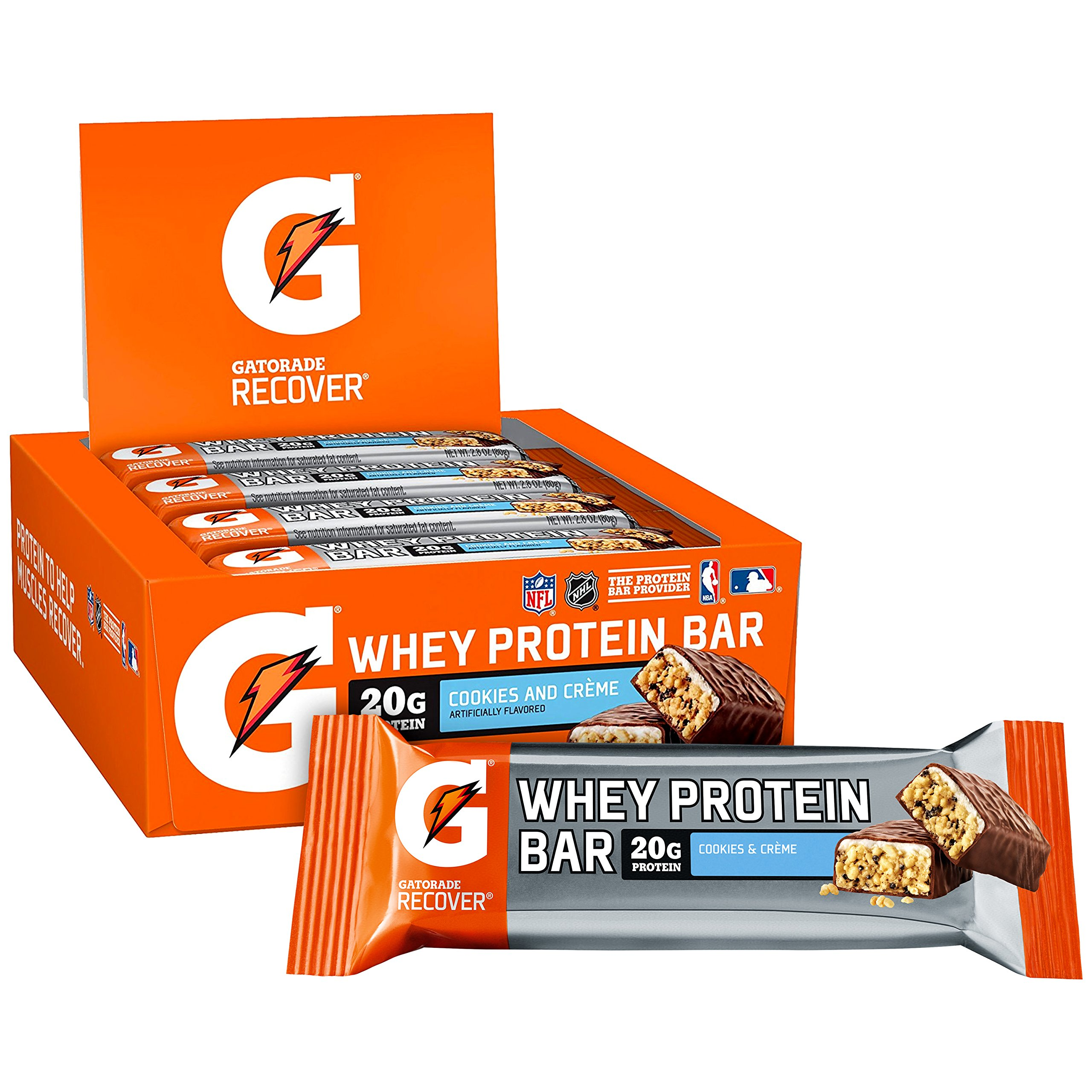 Gatorade Protein Cookies Cr%C3%A8me protein