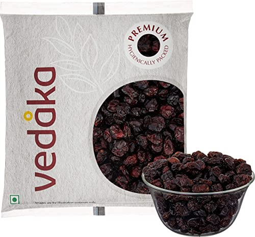 Amazon Brand Vedaka Premium Whole Dried Cranberries 100g