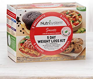 Nutrisystem® 5 Day Weight Loss Kit, Success - Your Weight Loss with Protein Powered Favorites