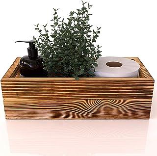 Peonies Bathroom Decor Box - Toilet Paper Holder, Caddy Organizer for Masks, or Farmhouse Kitchen Utensil Holder Caddy, DI...